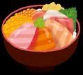 ブログ素材(海鮮丼)