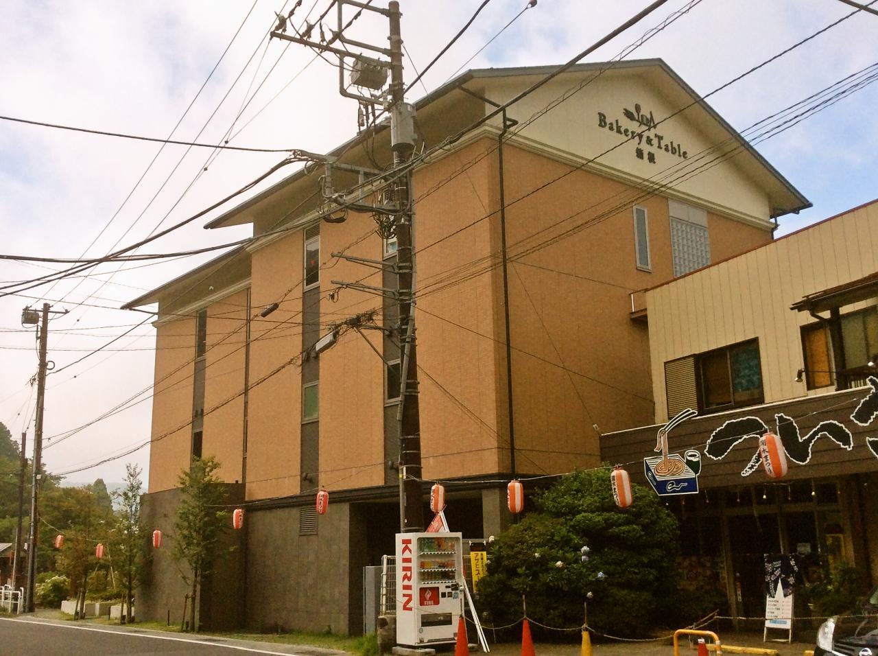ベーカリーテーブル箱根(店舗外観)