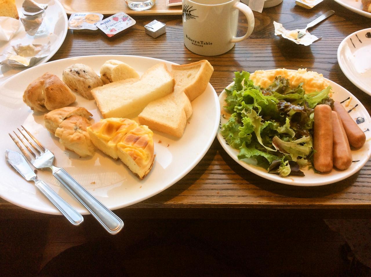 ベーカリーテーブル箱根(料理)