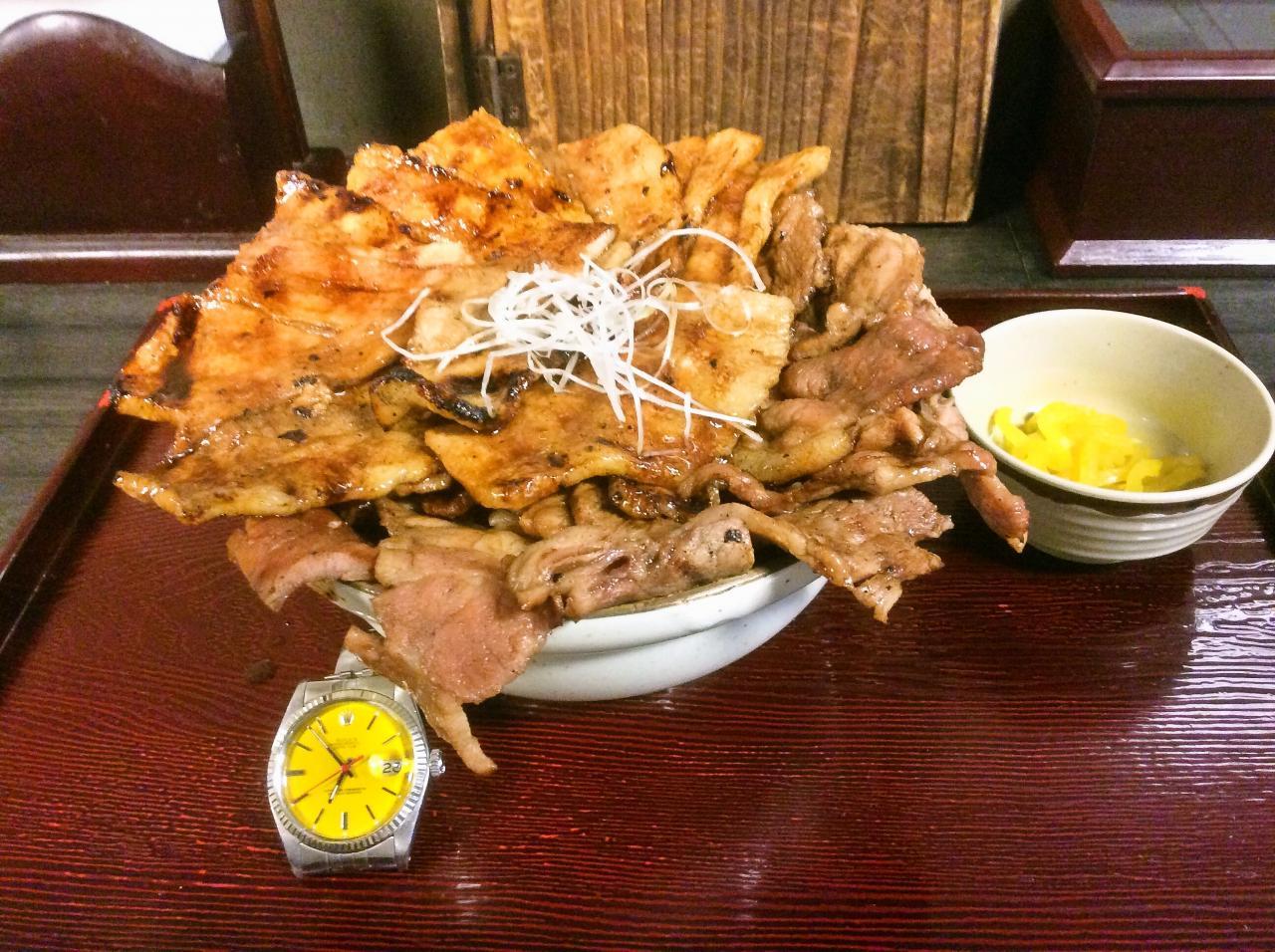 とんたん(豚丼)