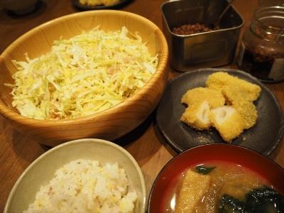 27レンコンカツ夕食_R