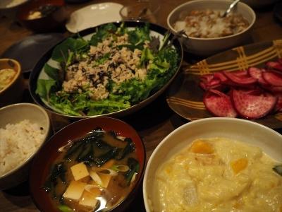 30マカロニグラタン夕食_R