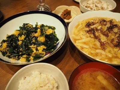 3白菜あん夕食_R