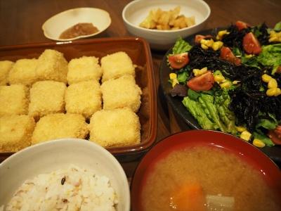 9凍らせ豆腐夕食_R
