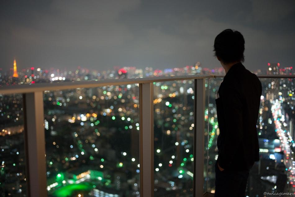 マンションからの夜景(うちじゃない)
