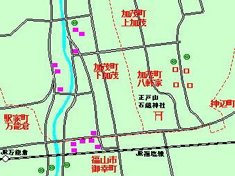 111話加茂町付近図下