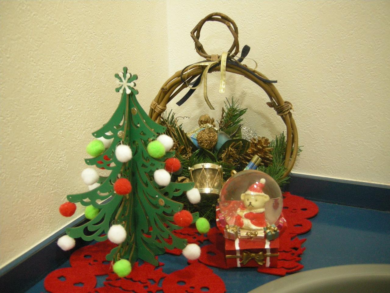 クリスマス飾り付け05