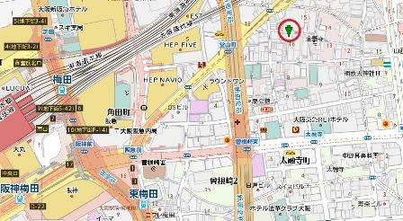 イワタ会館地図