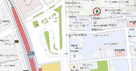 岩崎ビル地図