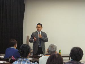 潰瘍性大腸炎の医療講演会3