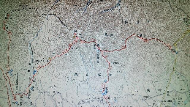 151102 蒜山地図 ブログ用