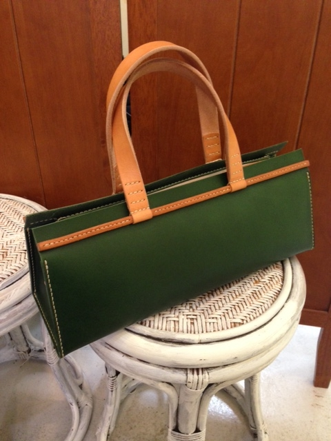 duck bag green