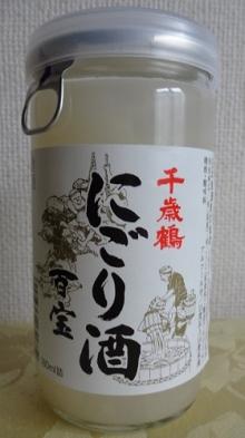 にごり酒 百宝 180ml 204円