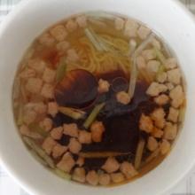 液体スープを入れました。