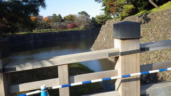 西桔橋と乾濠