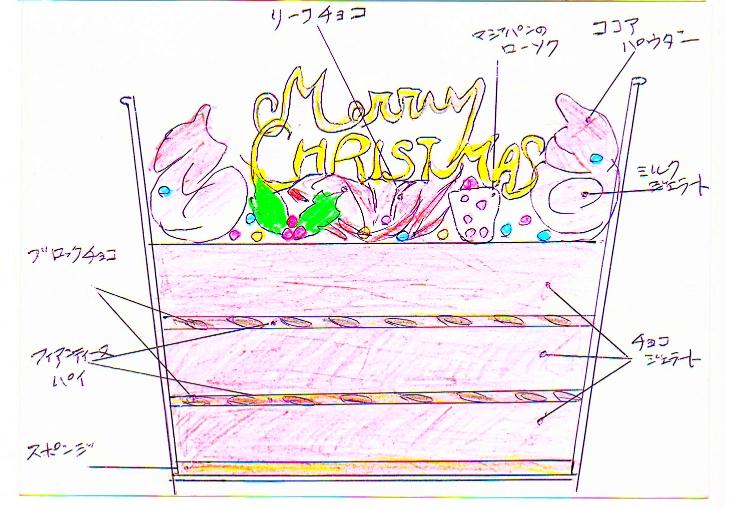 クリスマスバケツ・チョコ