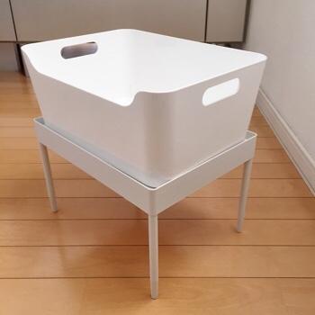 無印良品 タモ材トレイ サイドテーブル