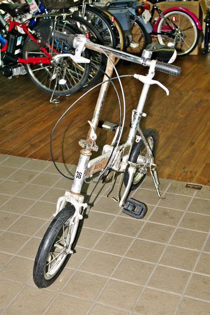 14インチの自転車