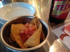 墨国回転鶏料理 QueRico:料理