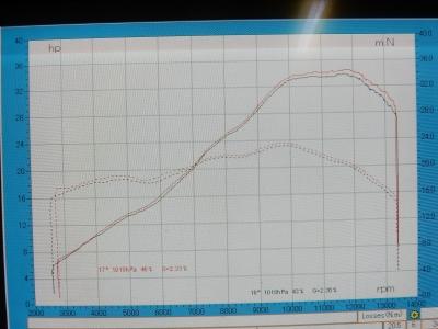 MT-25 パワーグラフ スリップオン