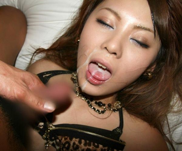 口内射精画像 4