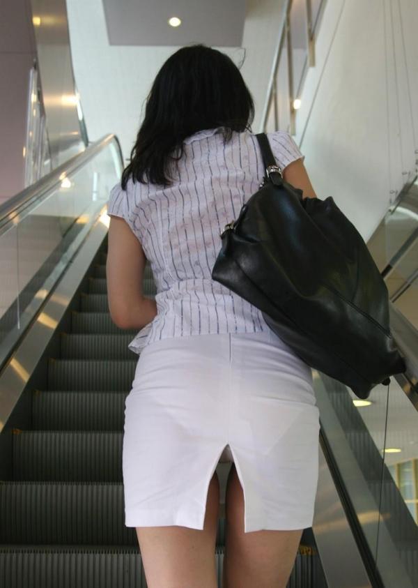 階段パンチラ画像&エスカレーターパンチラ画像-43