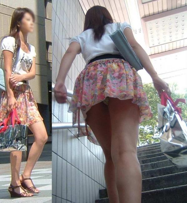 階段パンチラ画像&エスカレーターパンチラ画像-44