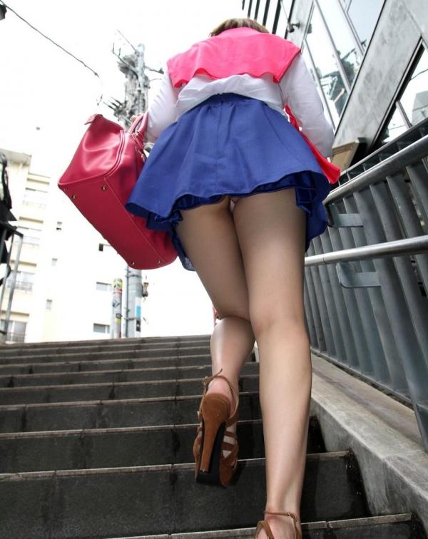 階段パンチラ画像&エスカレーターパンチラ画像-70
