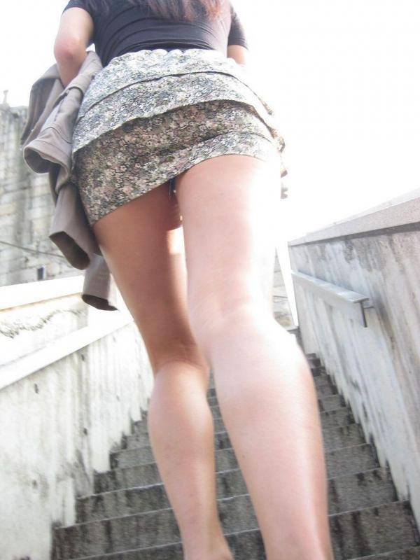 階段パンチラ画像&エスカレーターパンチラ画像-78