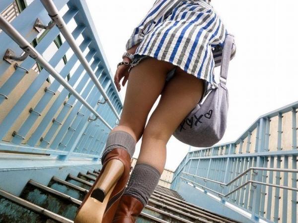 階段パンチラ画像&エスカレーターパンチラ画像-80