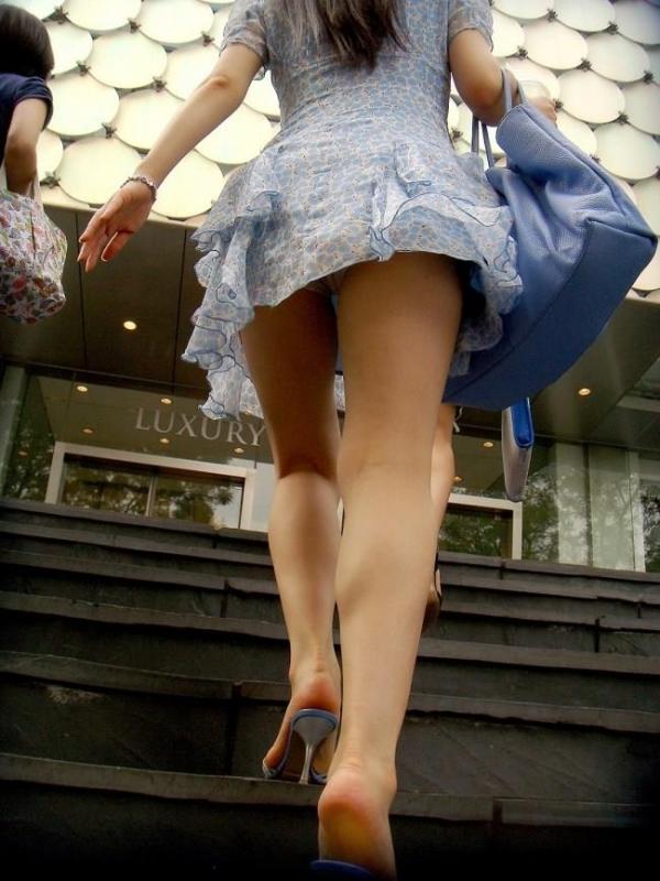 階段パンチラ画像&エスカレーターパンチラ画像-85