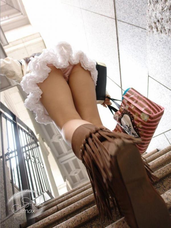 階段パンチラ画像&エスカレーターパンチラ画像-86