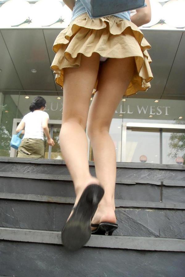 階段パンチラ画像&エスカレーターパンチラ画像-88