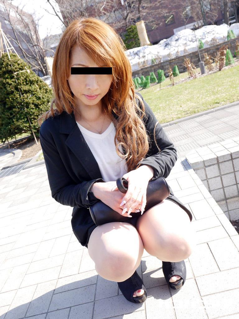 四十路淫乱人妻の無修正熟女画像-2