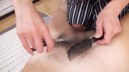 四十路淫乱人妻の無修正熟女画像-28