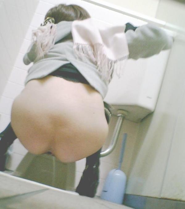 トイレ盗撮画像 1