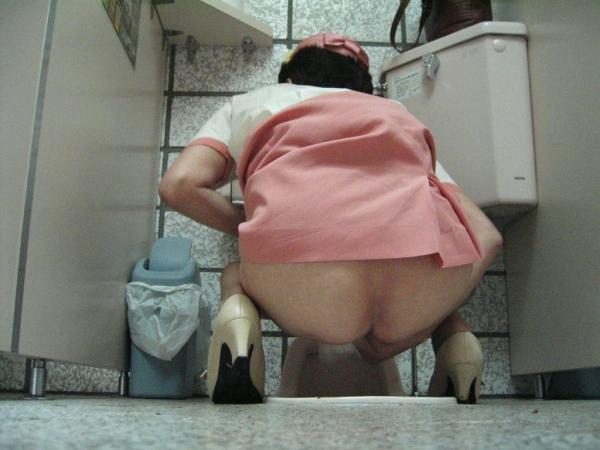 トイレ盗撮画像 8