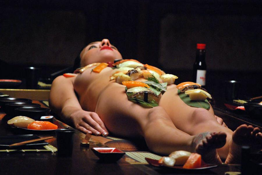 女体盛り画像 13