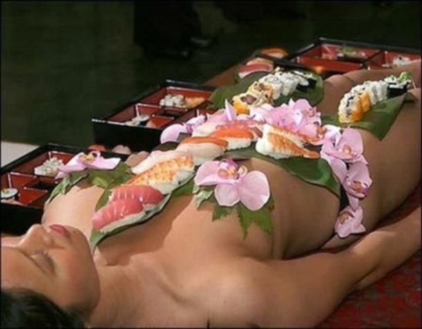 女体盛り画像 8