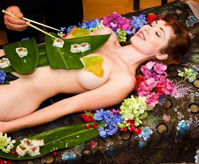 女体盛り画像 9