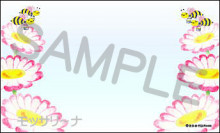 $モッサリ〜ナ-メッセージカードマーガレット
