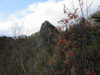 剣山三の森から山頂