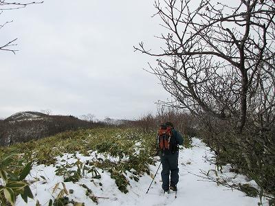 摩周湖第一展望台登山道5雪道