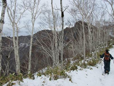 摩周岳登山道1