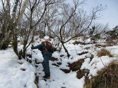 摩周岳登山道5