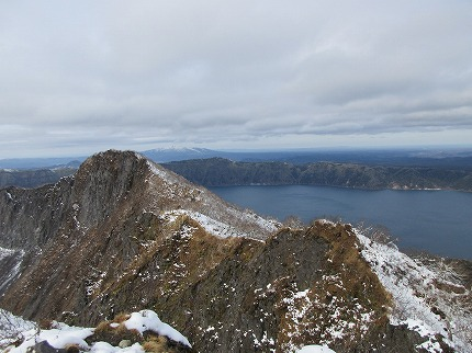 摩周岳頂上11月1