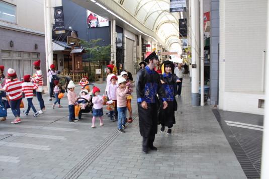 甲府ハロウィン 仮装パレード
