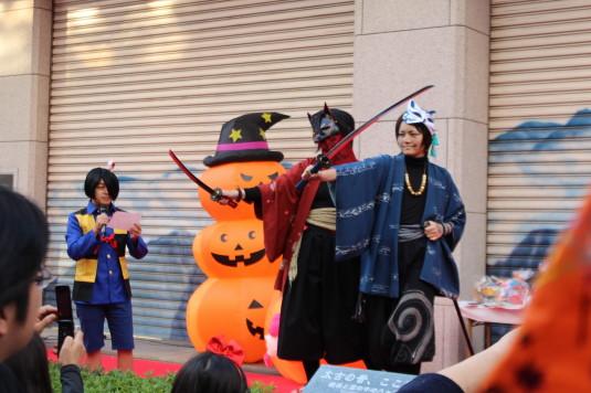 甲府ハロウィン 仮装コンテスト コスプレ