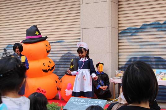 甲府ハロウィン 仮装コンテスト ゾンビナース