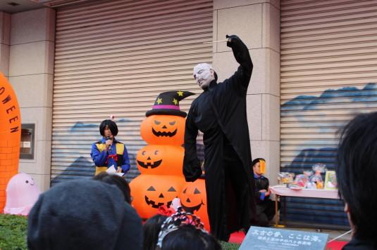 甲府ハロウィン 仮装コンテスト ウォルデモート